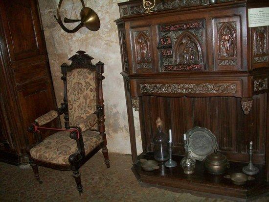 The Maison Forte de Reignac: Гостиная