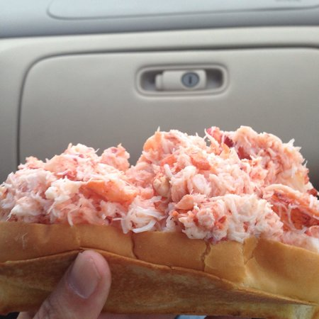 The Beach Plum: Nice lobster roll
