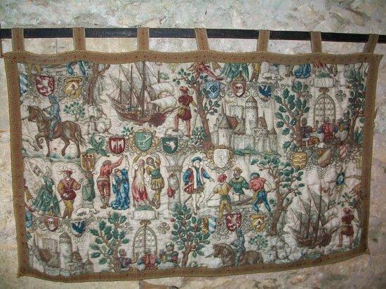 La Maison Forte de Reignac : Старинный гобелен