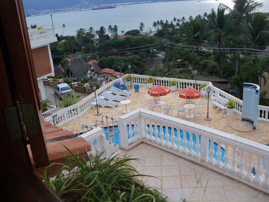 Hotel Guanumbis: Vista da Varanda do Hotel