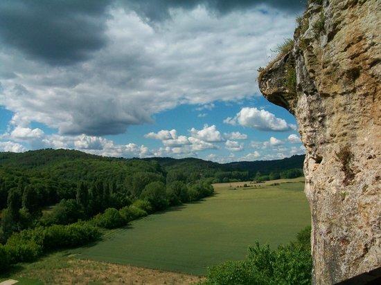 La Maison Forte de Reignac : Вид на долину