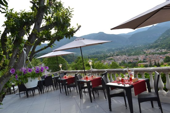L'Auberge Provencale : terrasse