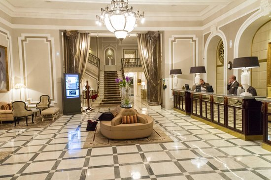 Hotel Maria Cristina, a Luxury Collection Hotel, San Sebastian: reception