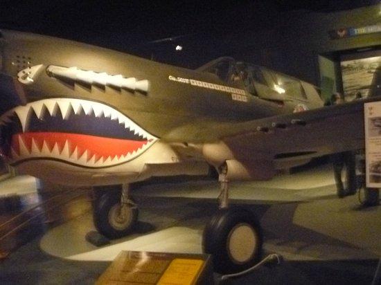 Museum of Aviation: O Scott fez a festa contra os japoneses