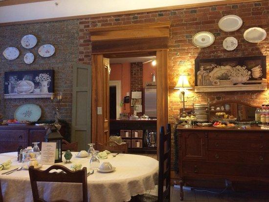 Market Street Inn : The breakfast room