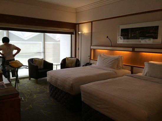 Pan Pacific Singapore: Twin room