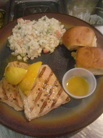 Talk of Townsend : scrumptious grilled salmon with summer slaw