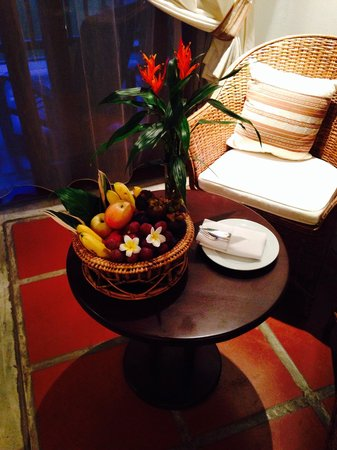 Riverside Boutique Resort : Fruits