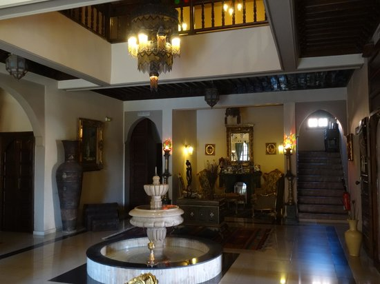 Albakech House : hall d'entrée