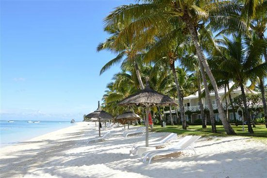 Sugar Beach Golf & Spa Resort: La spiaggia