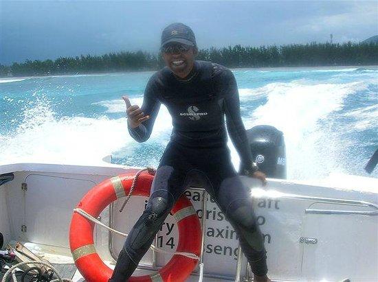 Sugar Beach Mauritius : Diving staff