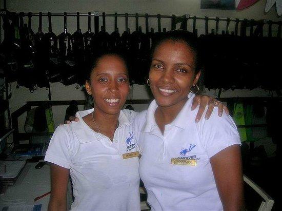 Sugar Beach Golf & Spa Resort: Diving staff