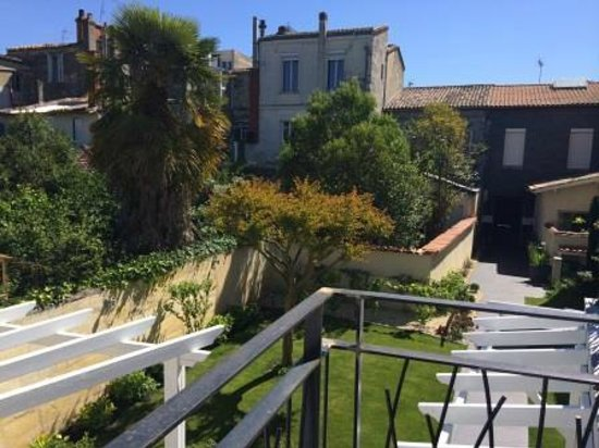 La Villa - Bordeaux Chambres d'Hôtes : La terrasse