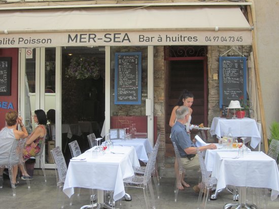 Mer Sea : restaurant from the market