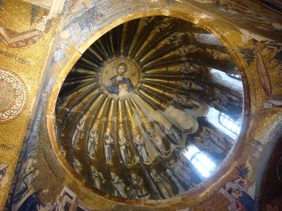 Museum Chora-Kirche: ceiling mosaic 2