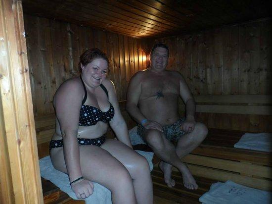 Aladdin Beach Resort: turkish bath