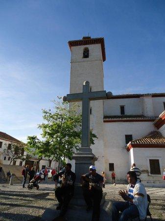 Plaza de San Nicolás: Artistas callejeros.