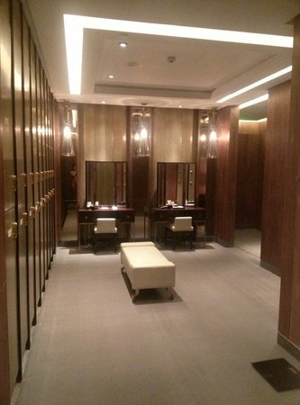 hotel locker room Picture of Sheraton Qingdao Licang Hotel