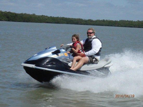 Capt. Ron's Awesome Everglades Adventures : Jet Ski fun