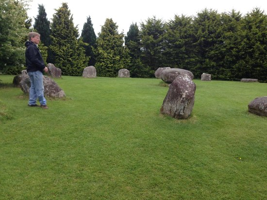 Partial view of Stone Circle