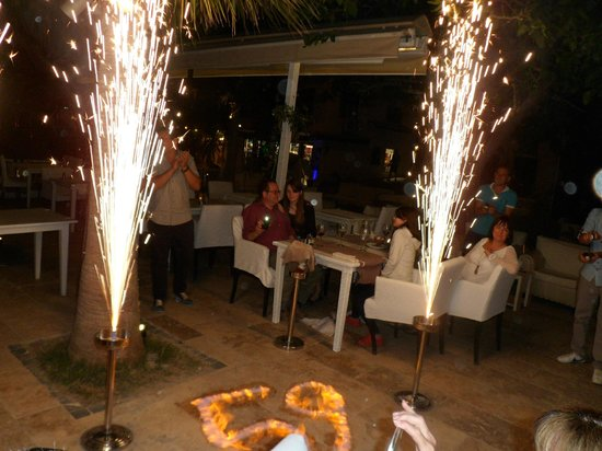 Birthday celebrations at Salt and Pepper
