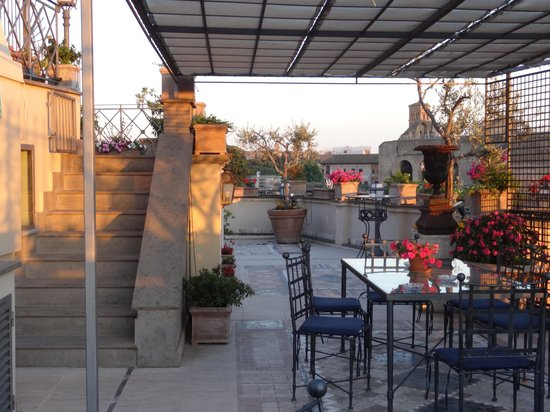 Made in Rome Bed&Breakfast : Rooftop terrace