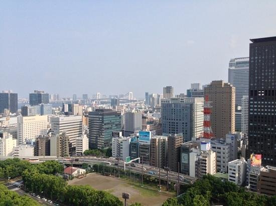 The Prince Park Tower Tokyo: The view from our room overlooking the Rainbow bridge