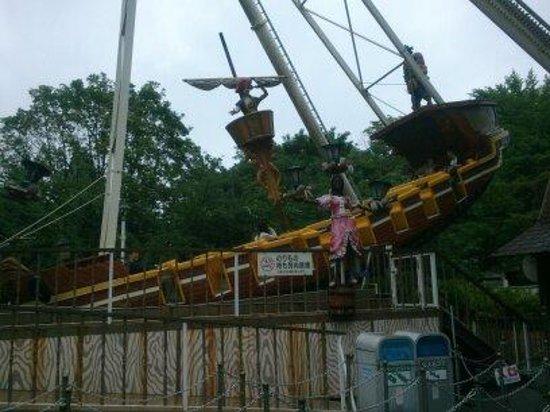 Toshimaen Amusement Park : バイキング