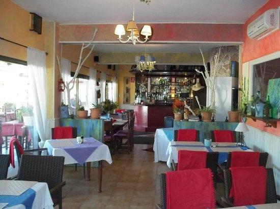 Restaurant Rustic : Blick auf die Theke
