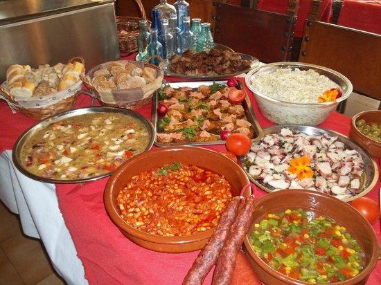 Restaurant Rustic : Das täglich wechselnde Sommerbuffet