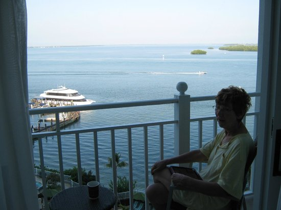 Sanibel Harbour Marriott Resort & Spa : My wife will never forget this view!