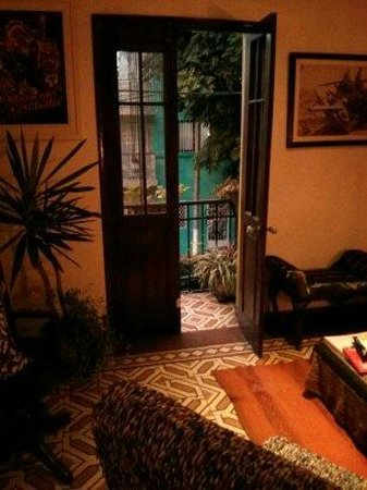 Casa Nuestra Peru B&B : View from the lounge area
