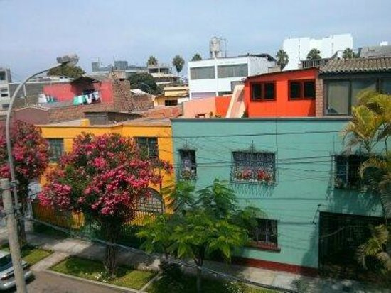 Casa Nuestra Peru B&B : View from the rooftop