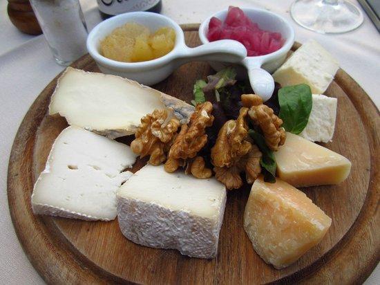 La Locanda del Cantiere: Cheese platter (for one!)