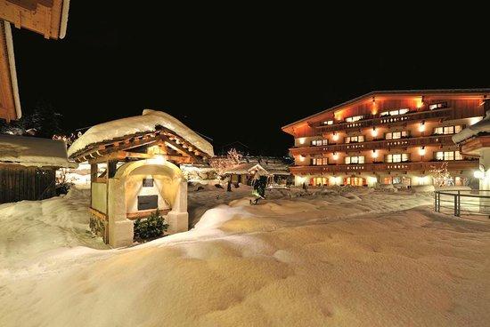 Hotel Quelle Nature Spa Resort: Inverno nel nostro giardino