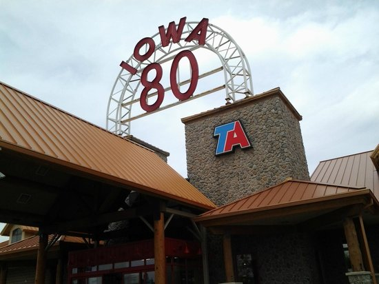 Iowa 80, World's Largest Truck Stop: We're here!