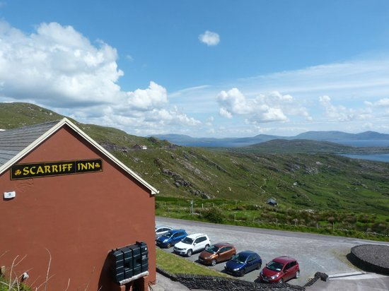 Scarriff Inn Restaurant: Fantastic views