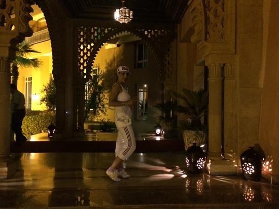 Ryad Mogador Kasbah: arrivée Hotel Magador kasbah