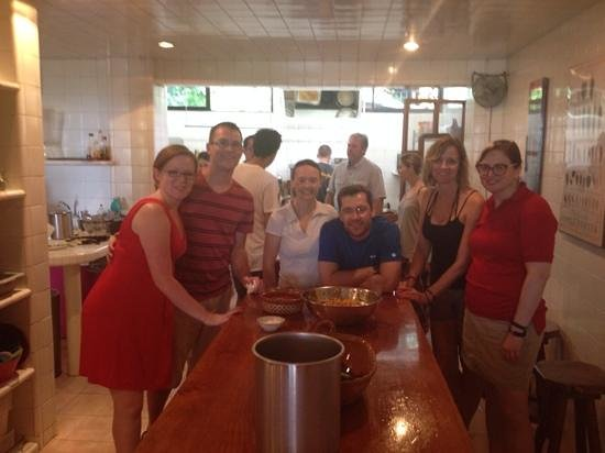 The Little Mexican Cooking School: our class