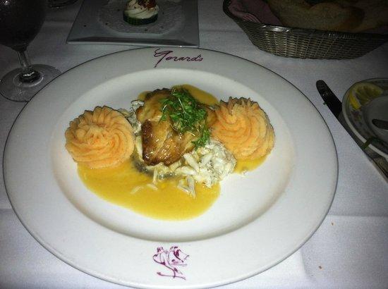 Gerard's : My dinner.