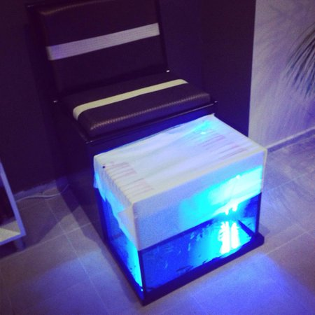 Club Evin Marmaris: Club Evin spa and beauty centre new 2014 fish spa