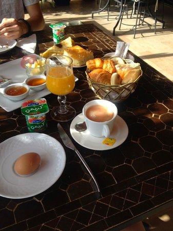 Palais Jena & Spa : Breakfast