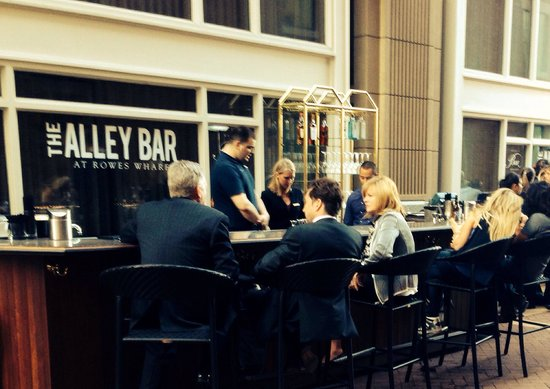 The Alley Bar at Rowes Wharf
