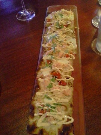 Seasons 52: Lobster flatbread
