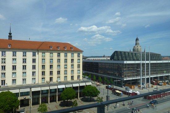 Ibis Budget Dresden City: Aussicht Zimmer 4106