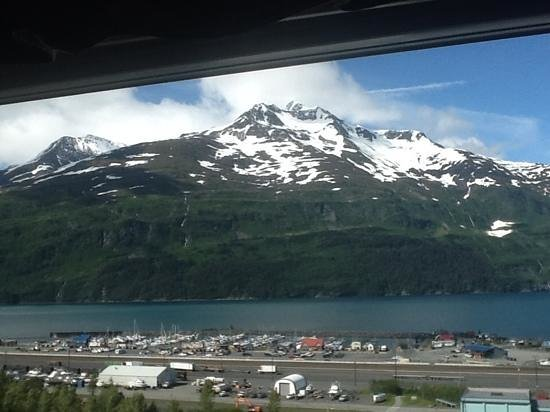 Saltwater Excursions - Fishing Charters and Heli Tours: Whittier AK The view from our condo