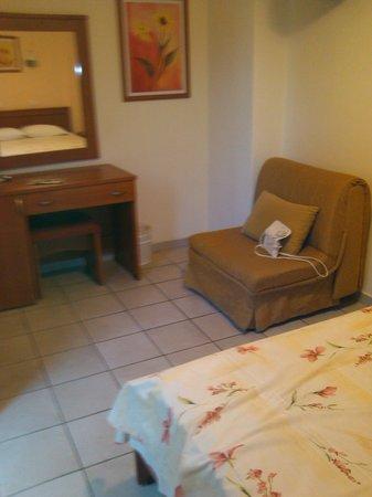 chambre de l'hotel Kronio