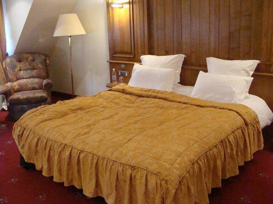 Hostellerie des Chateaux & Spa: le lit