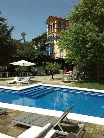 Mas Passamaner: piscina