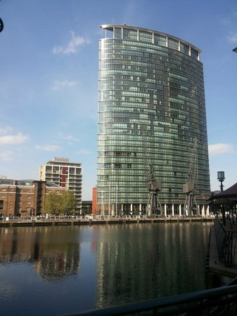 London Marriott Hotel West India Quay : the hotel